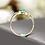 Thumbnail: Sea Green in Gold Ring