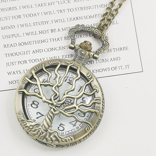 The Tree of Life Large Pocket Watch