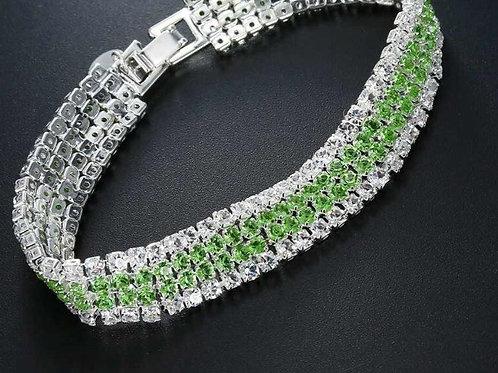 4 Strand Tennis Bracelets