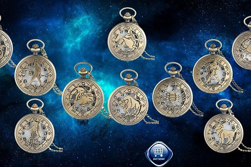 Astrology Large Pocket Watches