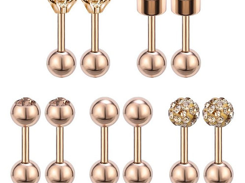 Stainless Steel Ball Back Studs