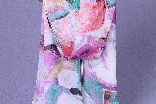 Abstract Watercolor Painting Scarf