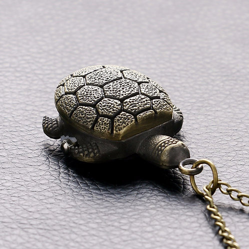 Turtle Small Pocket Watch