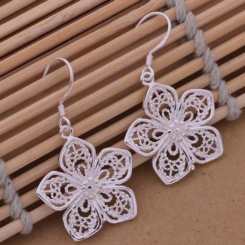 Intricate Flowers Earrings