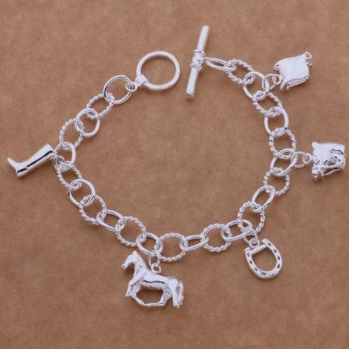 Country Charm Bracelet