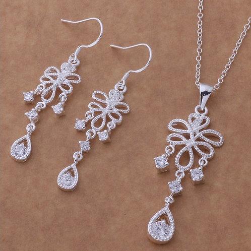 Chandelier Silver Set