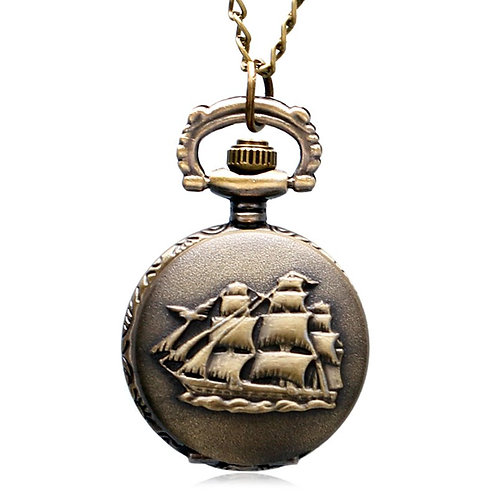 Ship Small Pocket Watch