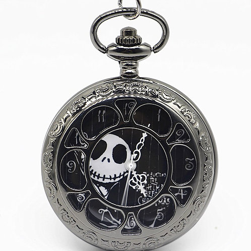 Nightmare Before Christmas Large Pocket Watch