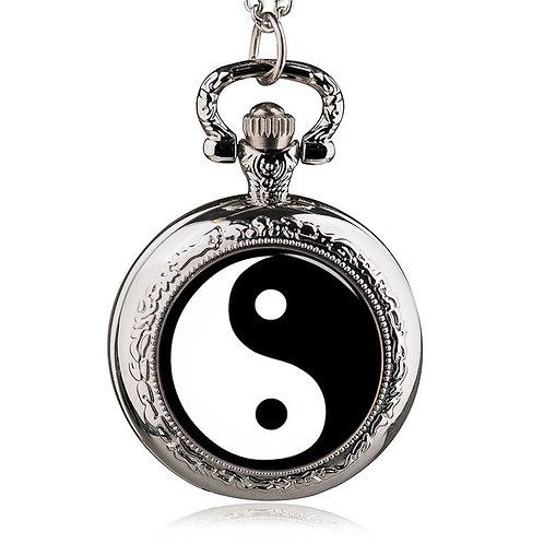 Yin Yang Small Pocket Watch