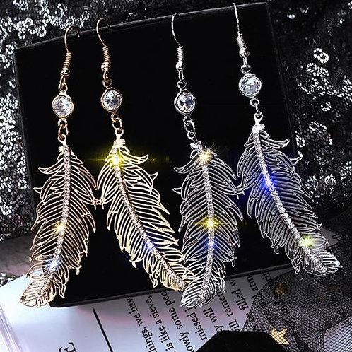 Glitzy Feathers
