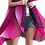 Thumbnail: Flower Power - Pink Ombre and Black Scarf Vest