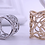 Thumbnail: Rose Outline Scarf Ring