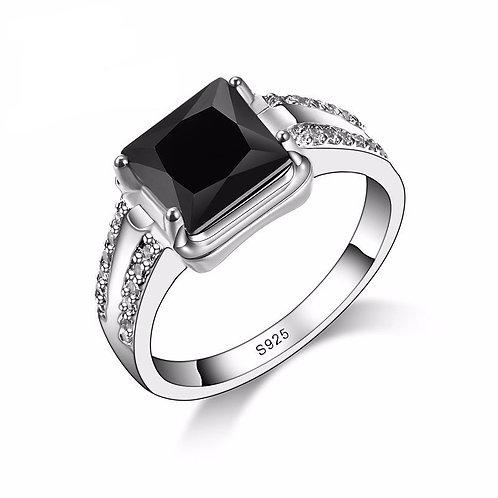 Midnight Black Ring