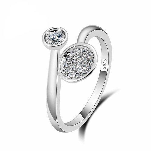 Sparkle Adjustable Ring
