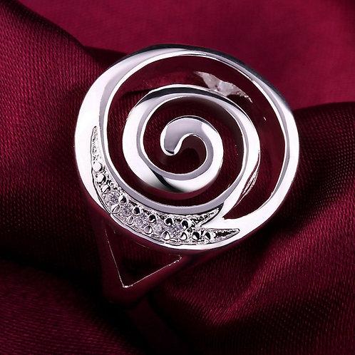 Fibonacci Spiral Ring