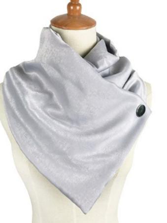 Silver Lady Wrap Scarf