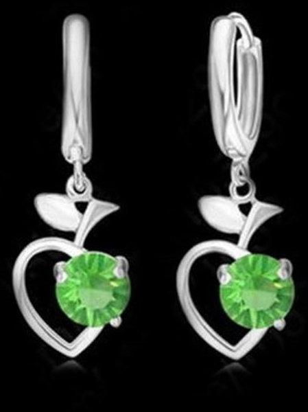 Green Apple Heart Set