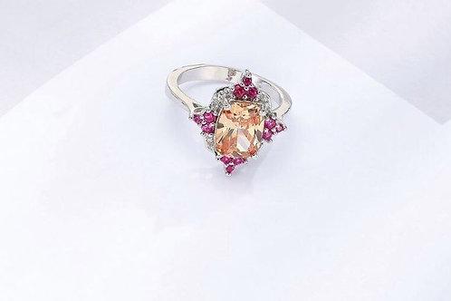Pink & Orange Beauty Ring