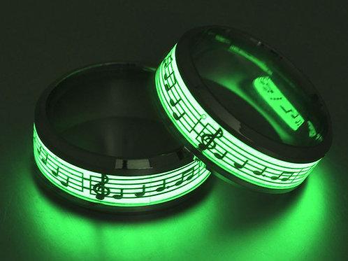 Glow in the Dark Music Ring