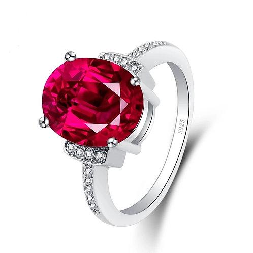 Ruby Red Elegance