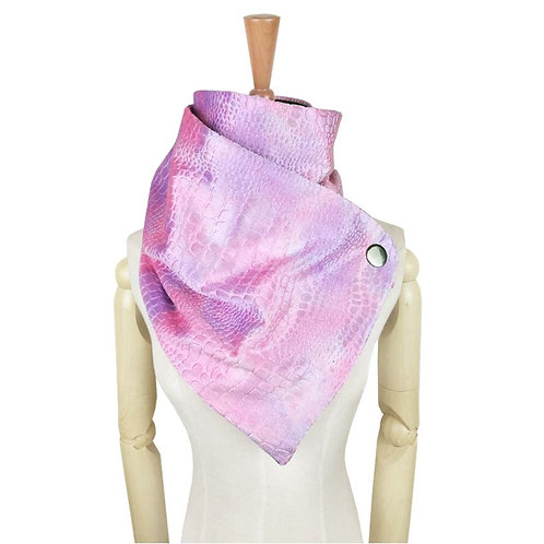 Icicle Pink Lined Wrap Scarf