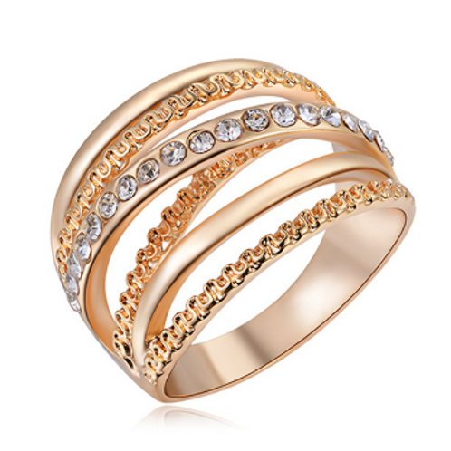 Multi-band Stainless Steel Ring