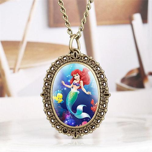 Ariel Small Oval Pocket Watch