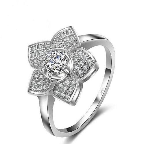 Star Flower Sparkle Ring