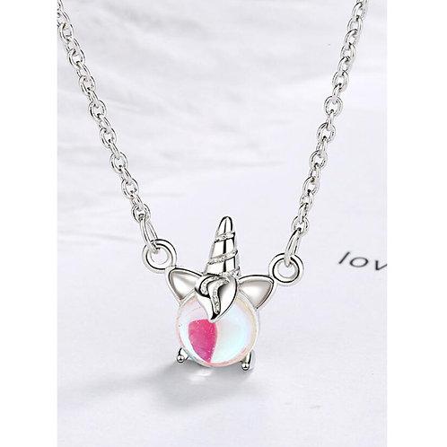 Unicorn Moonstone Necklace