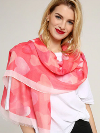Where the Heart Is Scarf
