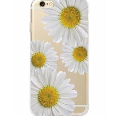 Large Daisy Clear Case