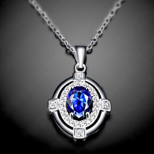 Royal Blue Regal Necklace