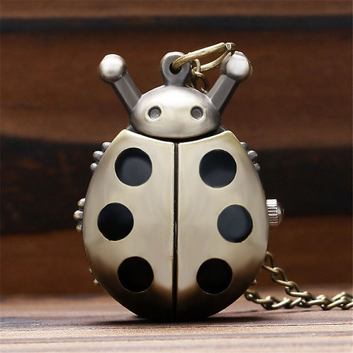 Lady Bug Small Pocket Watch