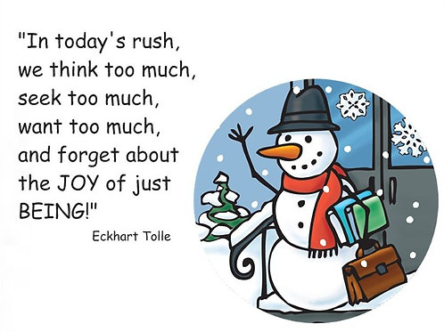 In today's rush...