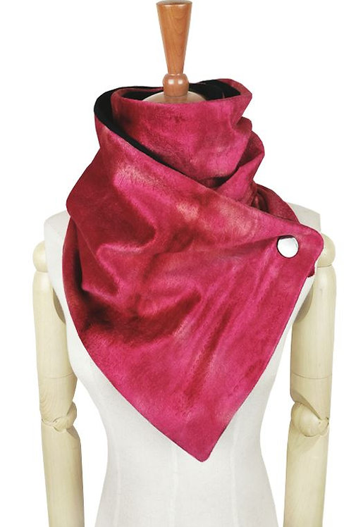 Cranberry Bliss Wrap Scarf