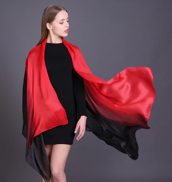 Straight - Ombre -Silk Red and Black.PNG