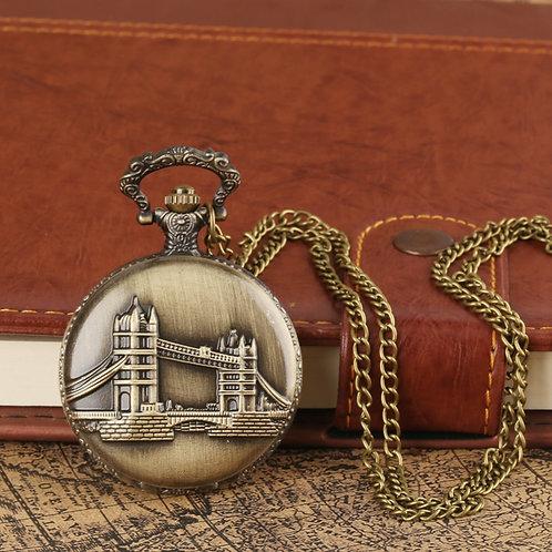 London Bridge Large Pocket Watch