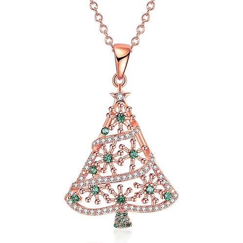 Divine Christmas Tree Rose Gold