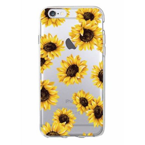 Sunflower Clear Case