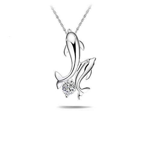 Dolphin Dance Necklace