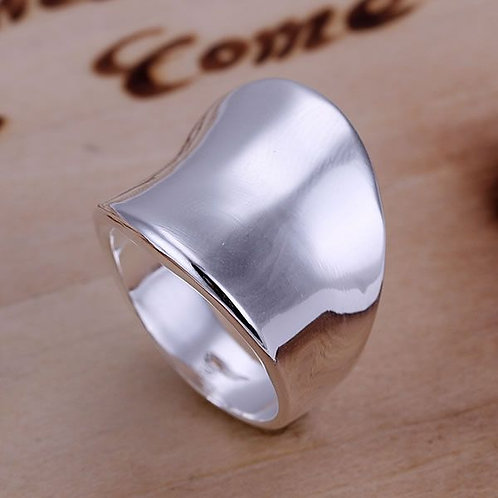 Smooth Concave Ring