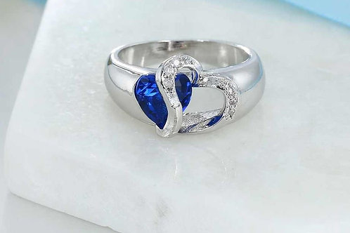 Blue without Love Ring