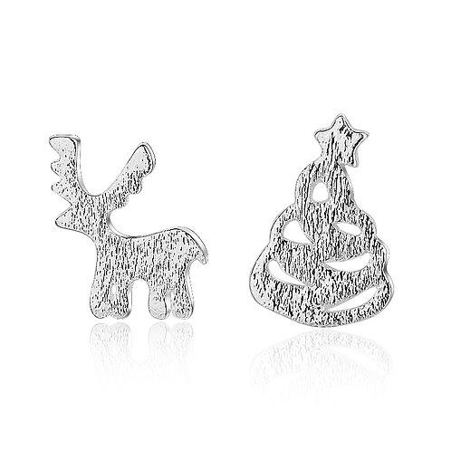 Reindeer & Christmas Tree Studs