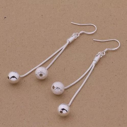 Double Globe Earrings