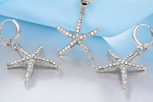 Iridescent Starfish Set