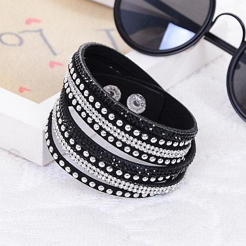 Bedazzled Wrap Bracelets