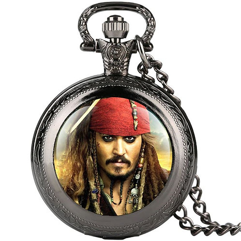 Jack Sparrow Small Pocket Watch