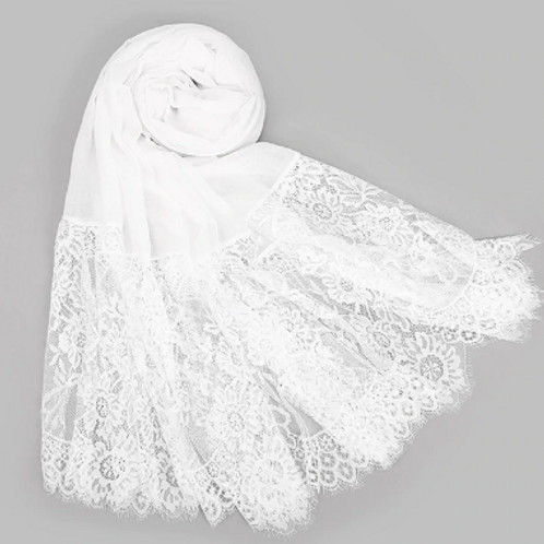 Chantilly Lace - White