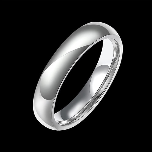 Stainless Steel Smooth Band