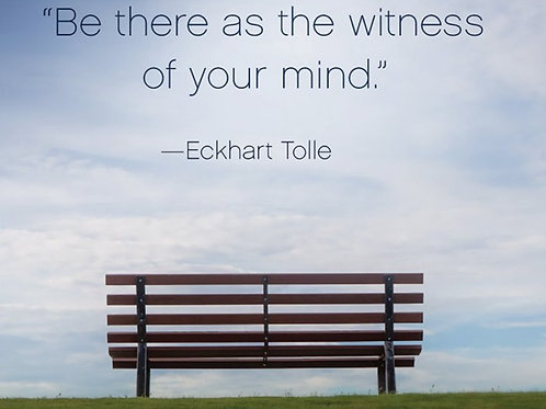 """""""Be there as the witness..."""""""